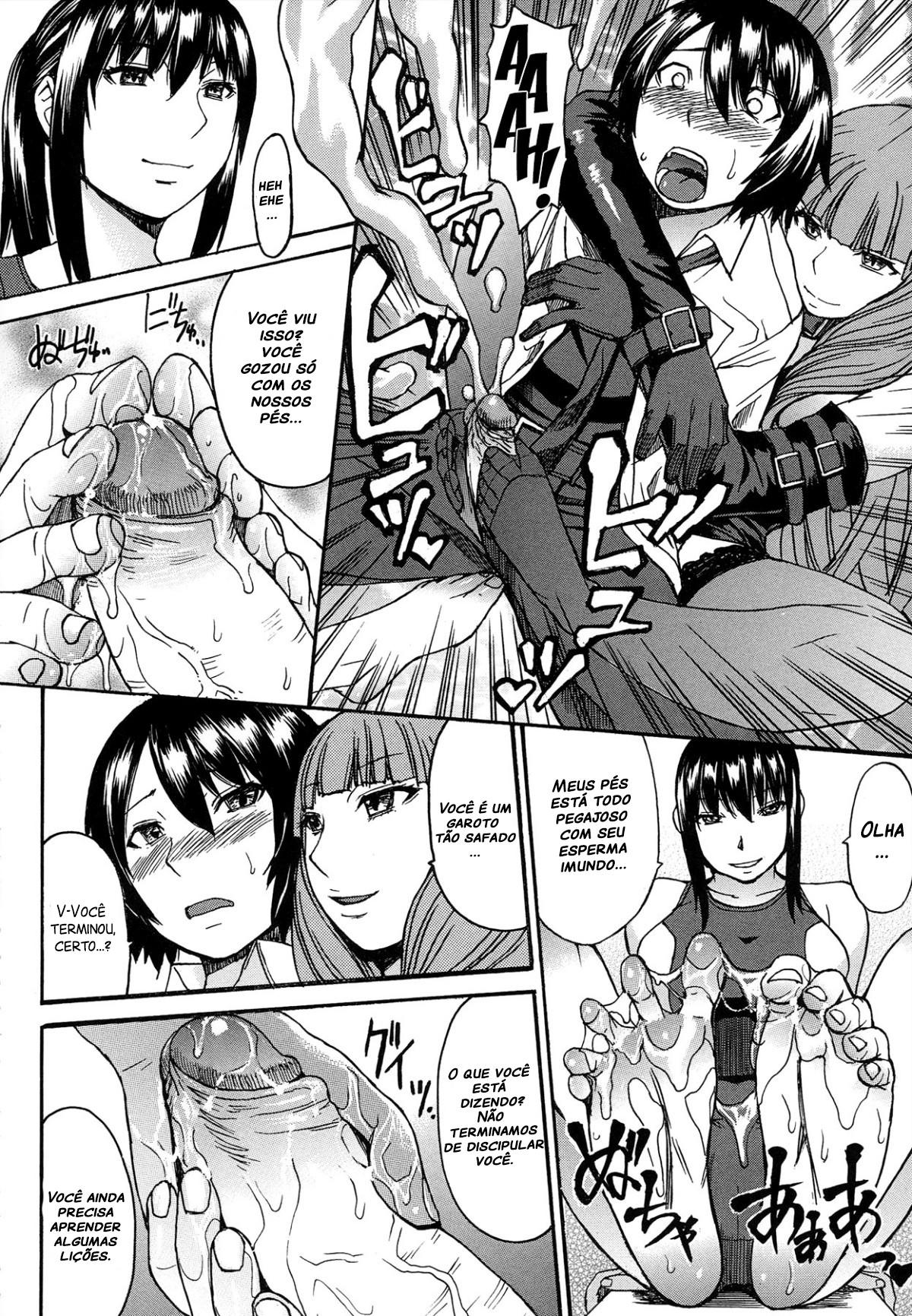 Ashigami Capitulo 3 - pagina 16