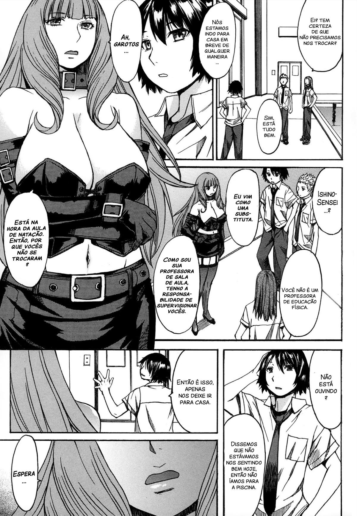 Ashigami Capitulo 3 - pagina 5