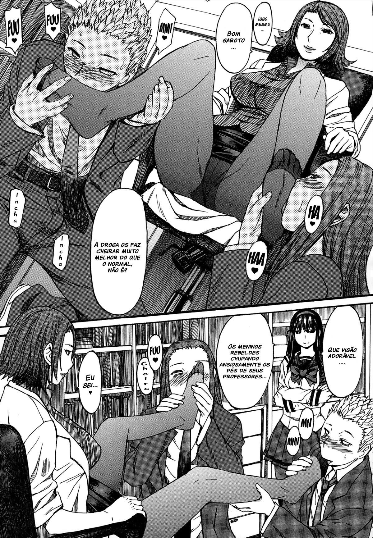 Ashigami Capitulo 4 - pagina 15